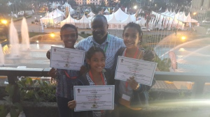 our girls with their awesome Chess Coach.