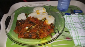 let the Ghanaian dishes be devoured with bliss. having some boiled Yam with dry fish stew..